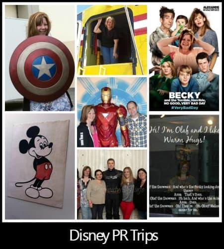 Disney PR Trips