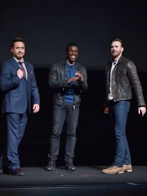 Iron Man, Captain America, Black Panther