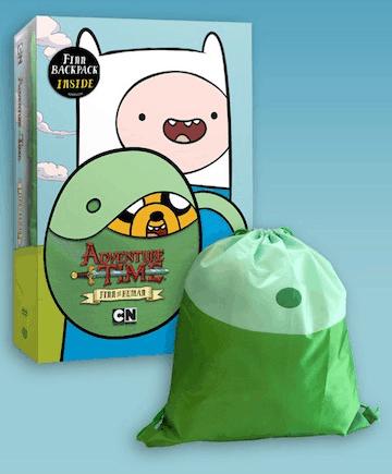 Clips ~ Adventure Time: Finn the Human on DVD 11/25