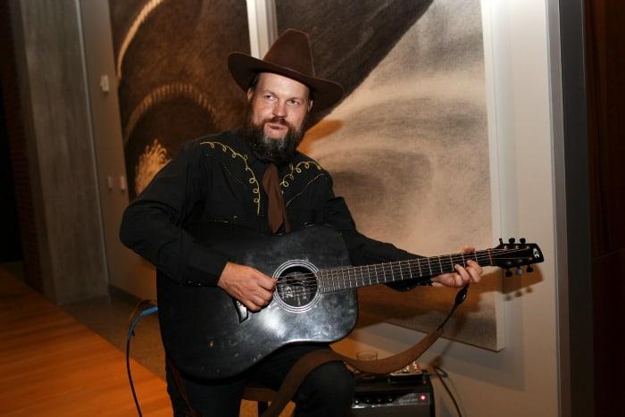 Pixar Campire Guitar player