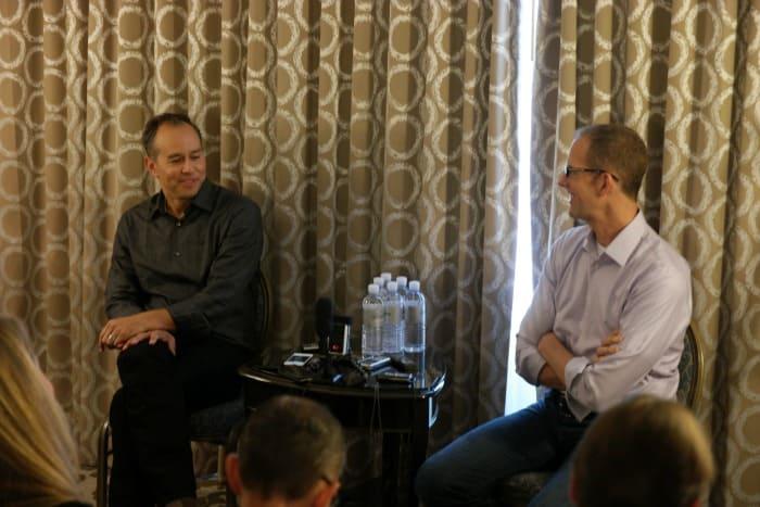 Director Peter Docter and Producer Jonas Rivera