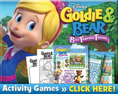Download Goldie Bear Activities