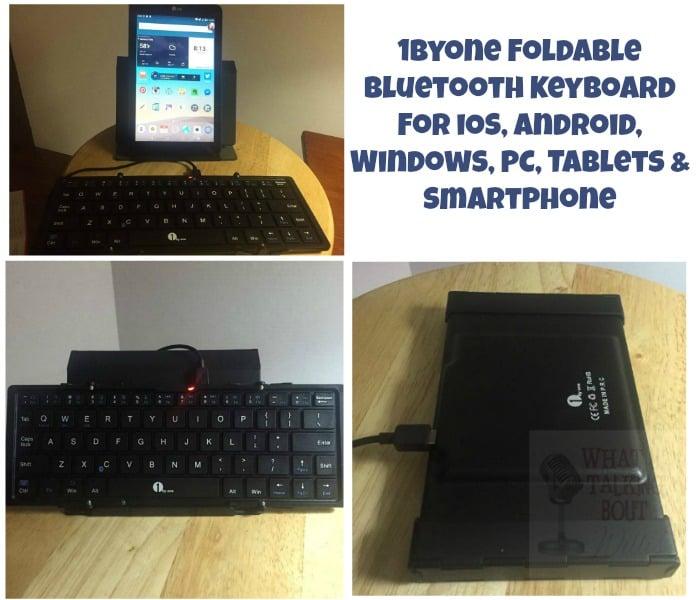 1byone foldable bluetooth
