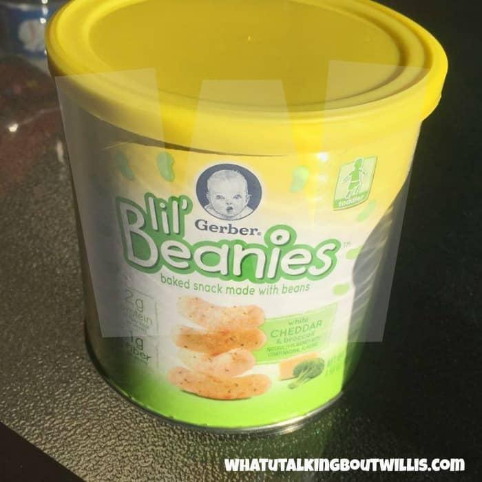 Gerber® Lil' Beanies(TM) White Cheddar & Broccoli
