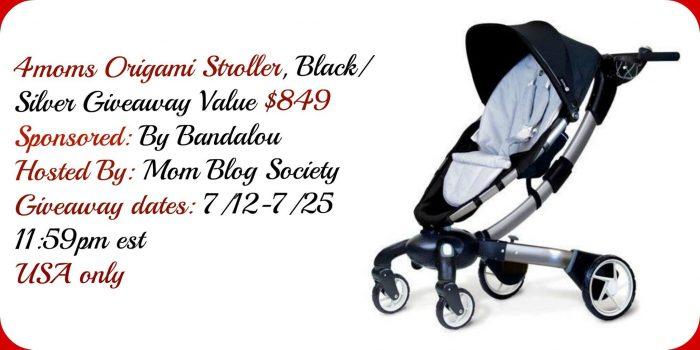 Bandalou 4moms Origami Stroller Giveaway Arv 849
