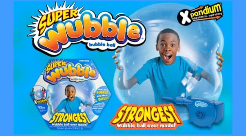 The Super Wubble Bubble Ball