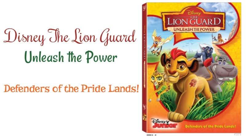 The Lion Guard Unleash the Power