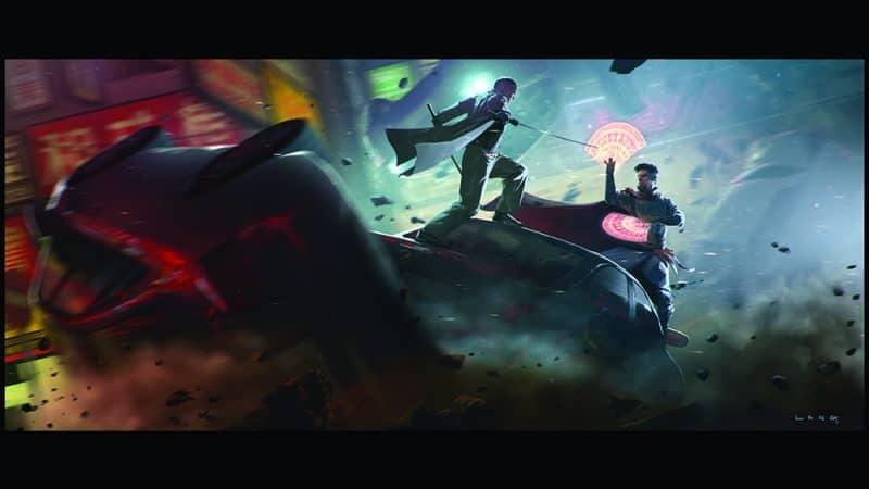 CHECKMATE-Doctor Strange