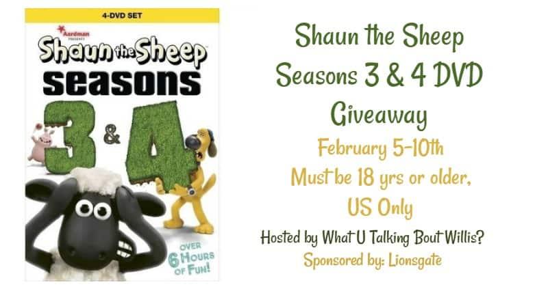 shaun the sheep giveaway