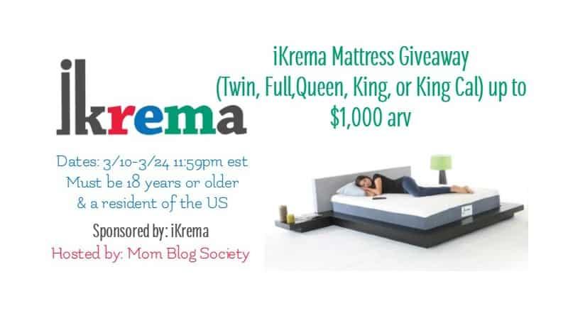 iKrema Mattress Giveaway