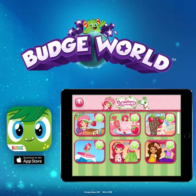 Budge World Strawberry Shortcake