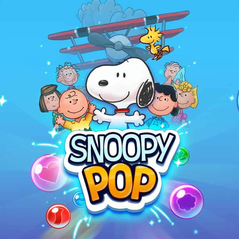 Snoopy Pop splash
