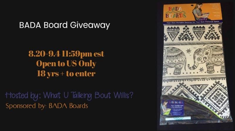 Bada Board Giveaway