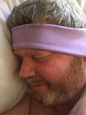 Wireless SleepPhones® So Comfortable to Fall Asleep with On