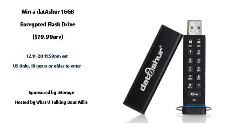 datAshur 16GB usb giveaway