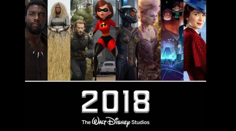 2018 Walt Disney Studios