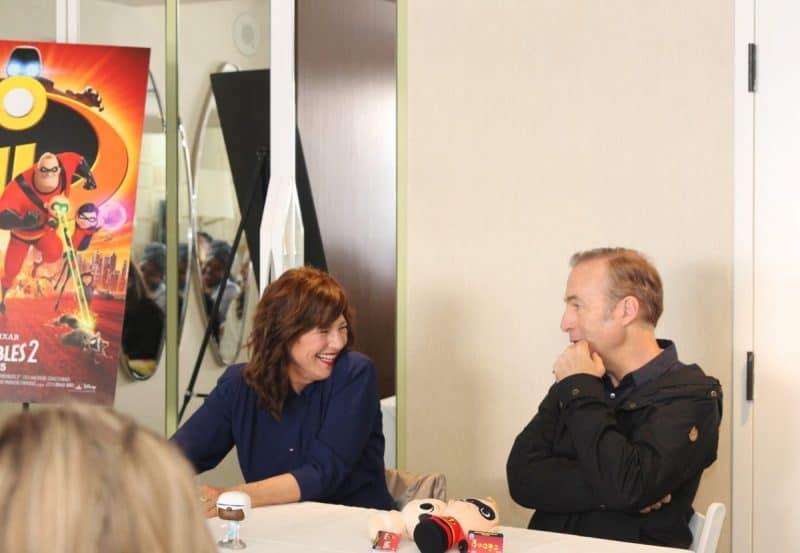 Catherine Keener & Bob Odenkirk Incredibles 2