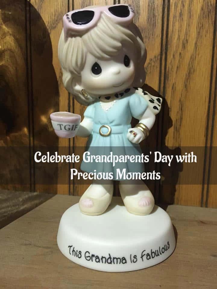 TGIF This Grandma is Fabulous a Precious Moments Figurine #PreciousMoments #GrandparentsDay