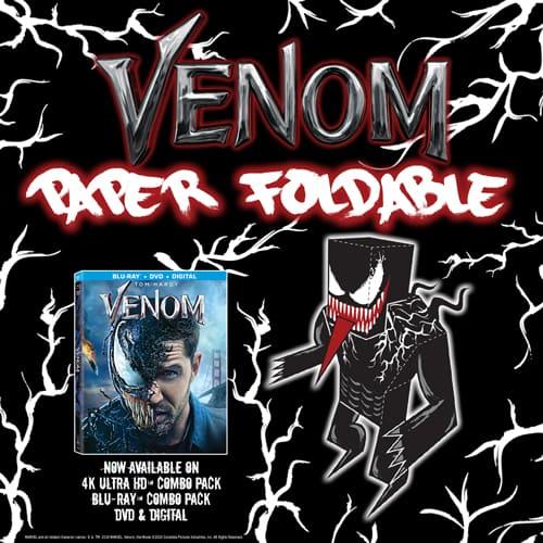Venom Paper Foldable